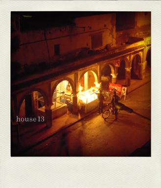 モロッコ エッサウィラ、ラマダンの夜