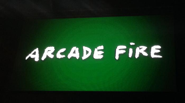 フジロック Arcade Fire