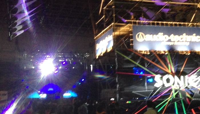 サマソニ sonic stage