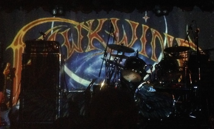 hawkwindの初来日公演at下北沢Gardenに行ってきました