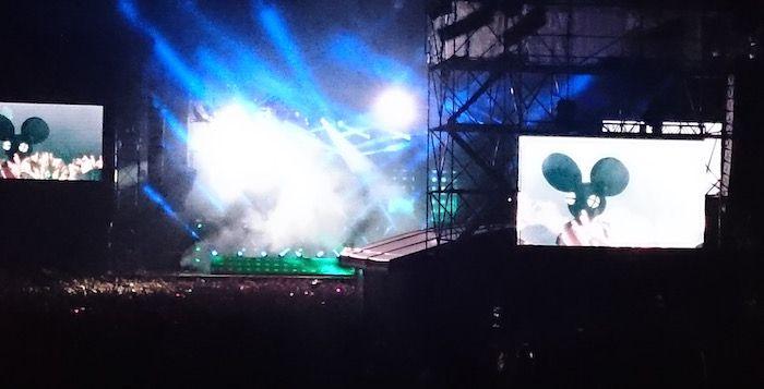 フジロック2015、グリーンステージでデッドマウスを見た