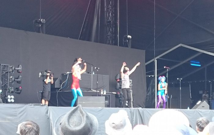 フジロック2015、最終日一番衝撃だったのはトッドラングレンのダンスでした