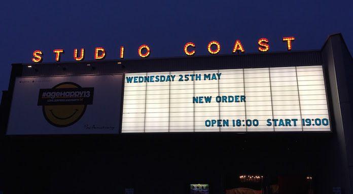 ニュー・オーダーの29年ぶりの単独来日公演に行ってきました