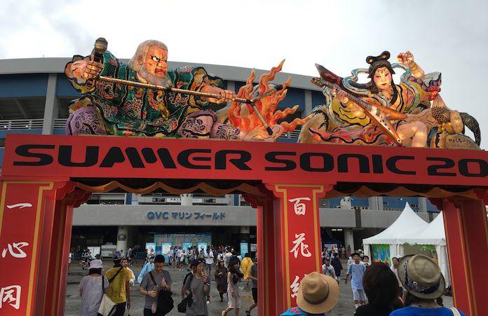 サマソニ2016東京(幕張)公演に行ってきました