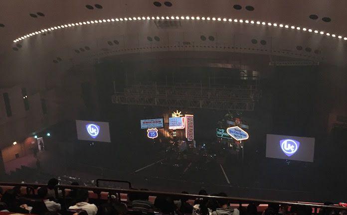 ユニコーン@神奈川・パシフィコ横浜 国立大ホールステージセット