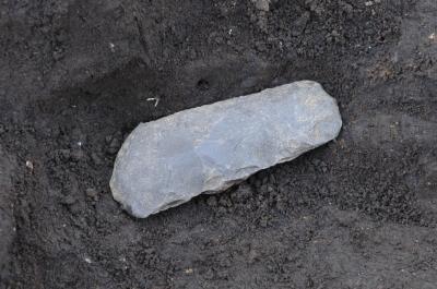 打製石斧の出土状況