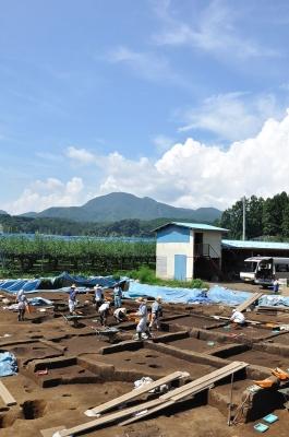 青麻山と谷地遺跡