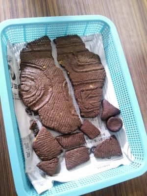 土器型クッキー
