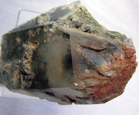 スカルドゥ産クローライト&赤鉄入り水晶4