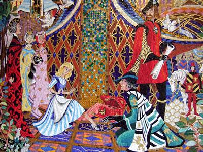 シンデレラ城 壁画