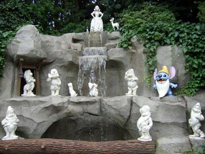 白雪姫 願いの井戸+スティッチ
