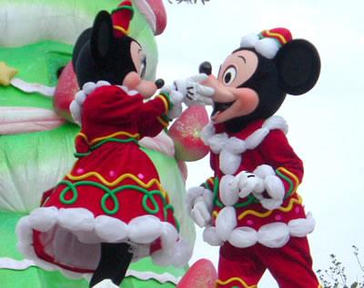 2004クリスマスパレード ミッキー&ミニー
