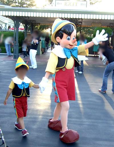 ピノキオとミニピノキオw