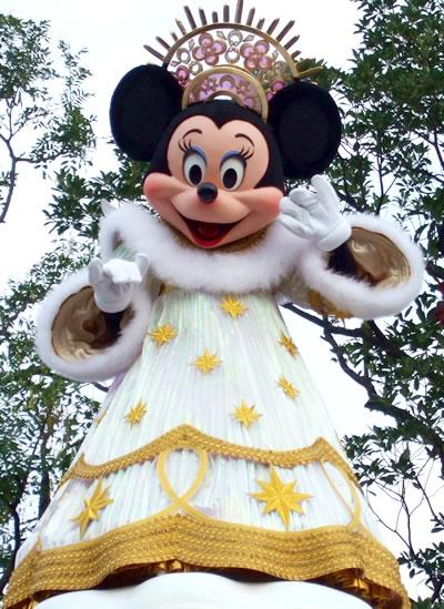 クリスマスドリームスオンパレード ミニー