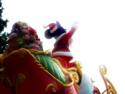 クリスマスドリームスオンパレード ミッキー