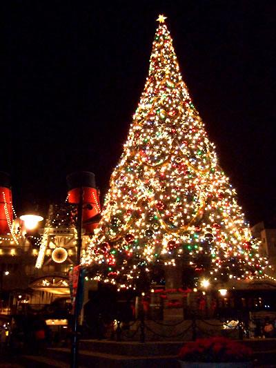 アメフロ クリスマスツリー夜