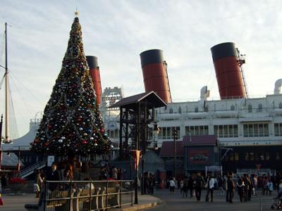 アメフロ クリスマスツリー昼間