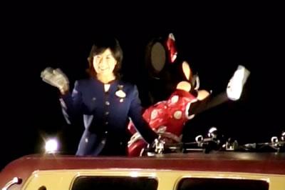ディズニーランド カウントダウン2008 新アンバサダーさん&ミニー