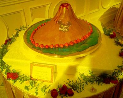 ホテルミラコスタ フェアリーテイルウェディング2007 ウェディングケーキ