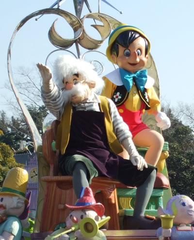 ドリパレ ピノキオ・ゼペットおじいさん