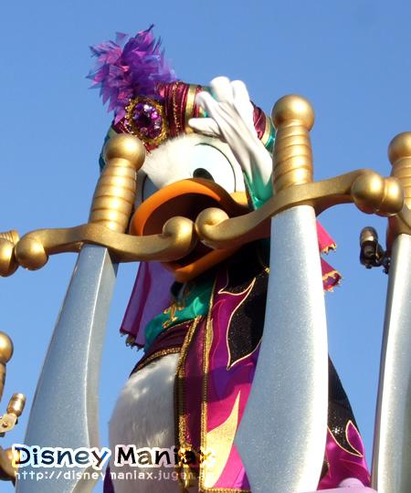 ディズニーハロウィン2008 ドナルド