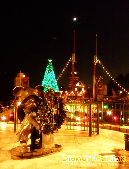 ディズニーシー クリスマスの夜景 ケープコッド
