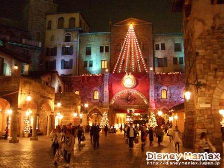 ディズニーシークリスマス2009