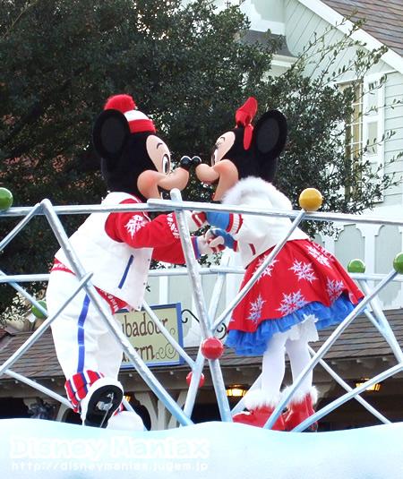ホワイトホリデーパレード・ミニー&ミッキー
