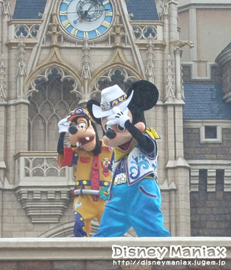 クールザヒート2010・ミッキー&グーフィー