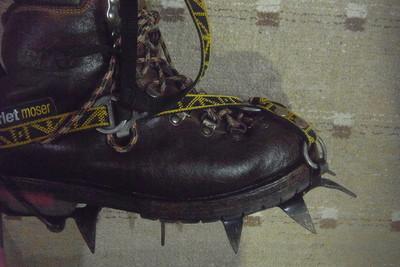 靴のくびれがわかりますか?