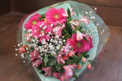 お祝いのプレゼント 卒業 いわき市 小名浜の花屋 花国湘南台店