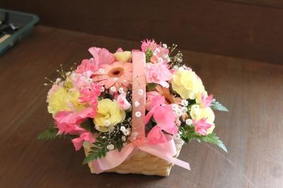 お祝いのお花 アレンジ 花束 ギフト お花 いわき市 小名浜の花屋 花国湘南台店