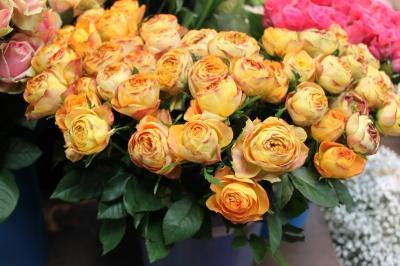 バラ ローズ  お祝いのお花 アレンジ 花束 ギフト お花 いわき市 小名浜の花屋 花国湘南台店