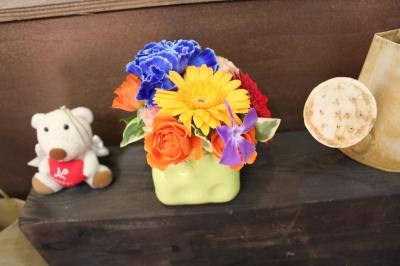 アレンジ 花束 お祝い いわき市 小名浜の花屋 花国湘南台店