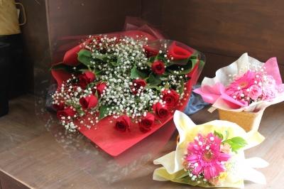 花束 ブーケ お祝い いわき市 小名浜の花屋 花国湘南台店