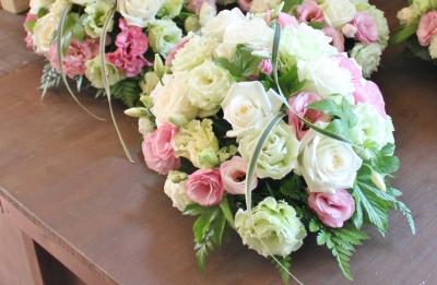ウェデイング 結婚式 お花  いわき市 小名浜の花屋 花国湘南台店