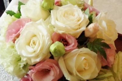 ブーケ 花束 アレンジ お祝い いわき市 小名浜の花屋 花国湘南台店