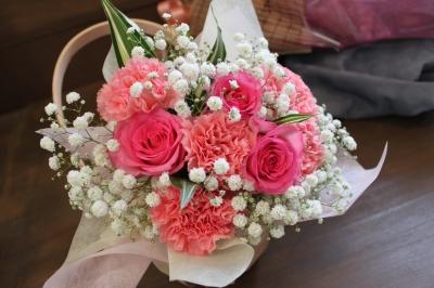トスブーケ ウエディング 両親贈呈 花束 いわき市 小名浜の花屋 花国湘南台店