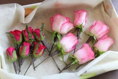 髪飾り トスブーケ ウエディング 両親贈呈 花束 いわき市 小名浜の花屋 花国湘南台店