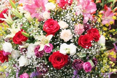 祝い花 スタンド花 お祝い いわき市 小名浜の花屋 花国湘南台店