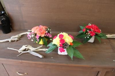 お正月 お花 アレンジ いわき市 小名浜の花屋 花国湘南台店