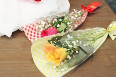 バラ お祝い アレンジ 花束 いわき市 小名浜の花屋 花国湘南台店