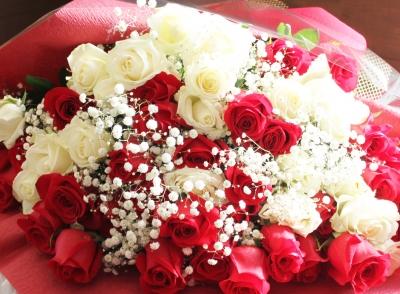バラ 花束 いわき市 小名浜の花屋 花国湘南台店
