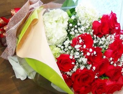 バラ お花 豪華 いわき市 小名浜の花屋 花国湘南台店