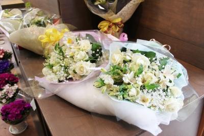 お祝い アレンジ 花束 ギフト いわき市 小名浜の花屋 花国湘南台店