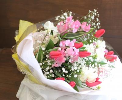 花束 かわいい いわき市小名浜の花屋 花国湘南台店
