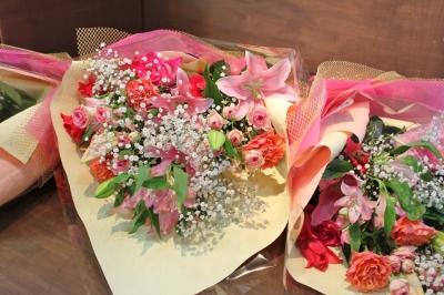 お祝い 花束 ボリューム お花 ギフト いわき市小名浜の花屋 花国湘南台店