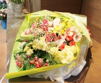 花束 お祝い いわき市小名浜の花屋 花国湘南台店