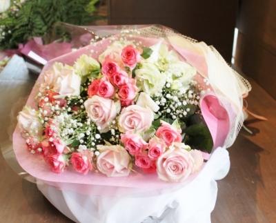 お祝い 花束 いわき市小名浜の花屋 花国湘南台店