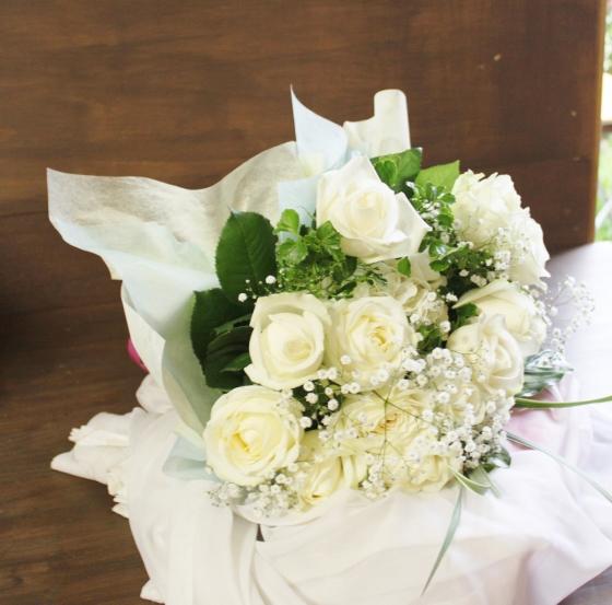 ブーケ 花束 プロポーズ いわき市小名浜の花屋 花国湘南台店